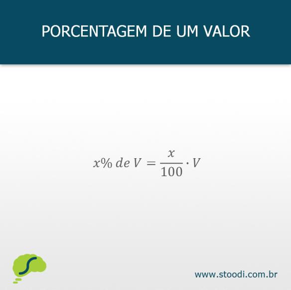 Como calcular porcentagem